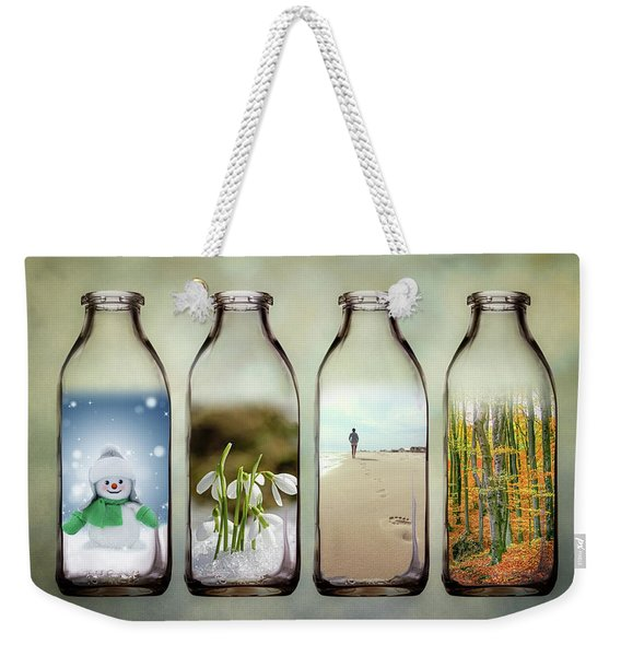 Time In A Bottle - The Four Seasons Weekender Tote Bag