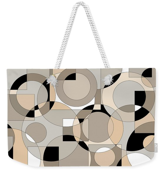 Time Out Weekender Tote Bag
