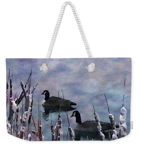 Time To Go South Weekender Tote Bag