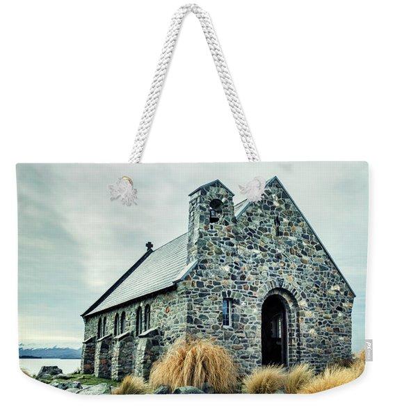 Timeless Worship Weekender Tote Bag