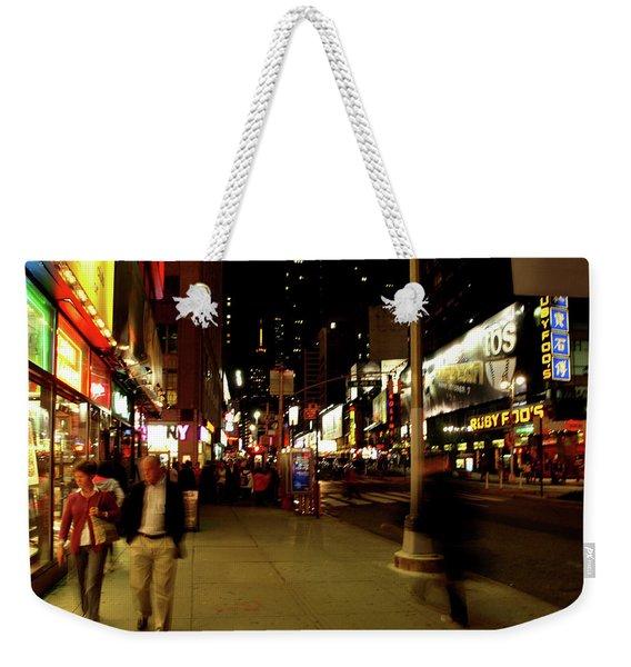 Time Square, One Weekender Tote Bag