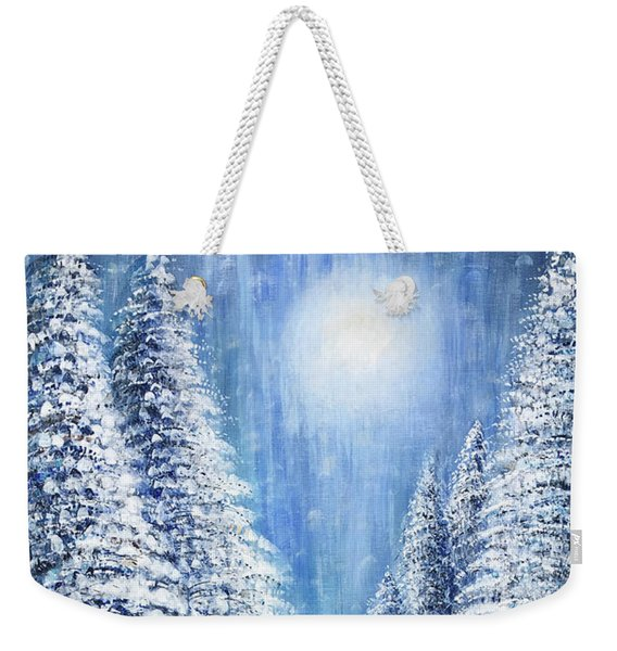 Tim's Winter Forest 2 Weekender Tote Bag