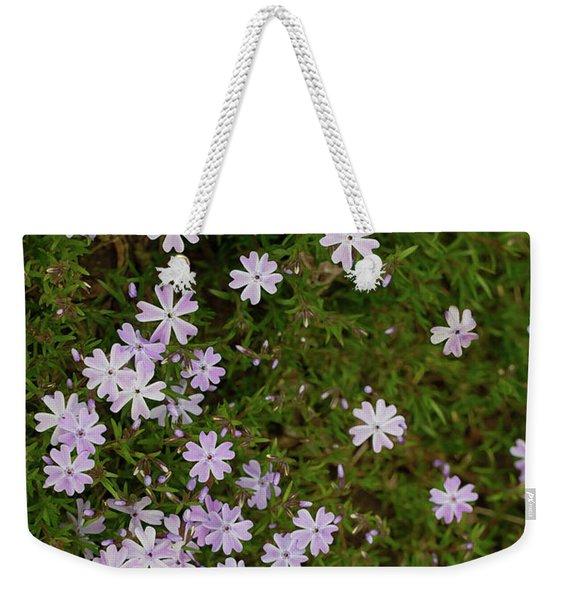 Tiny Phlox Weekender Tote Bag