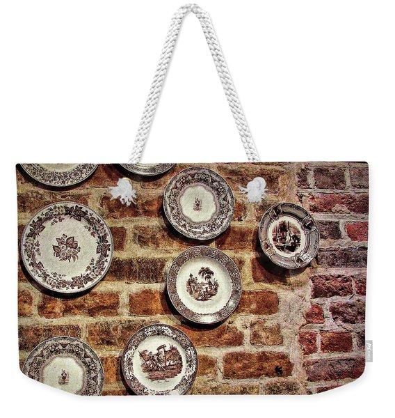Tiole Plates Weekender Tote Bag