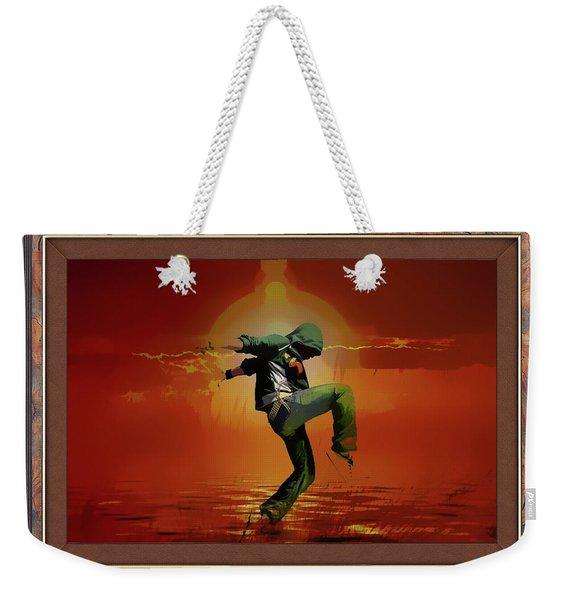 Tip Toe Dancer Weekender Tote Bag