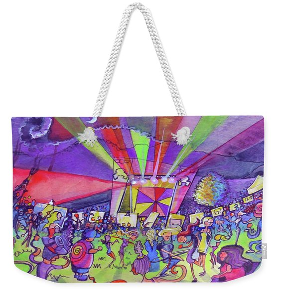Arise Fest 2019 Live Painting While Tipper And Clozee Played. Weekender Tote Bag
