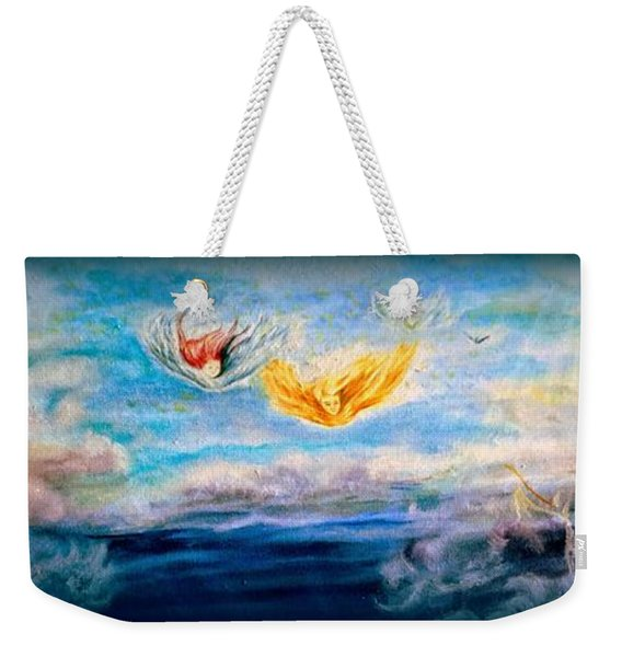 To Harvest God's Own Weekender Tote Bag