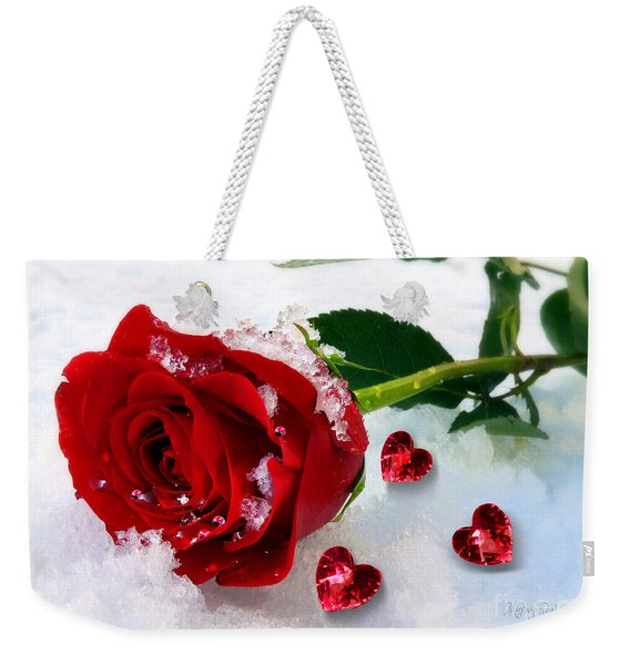 To Make You Feel My Love Weekender Tote Bag