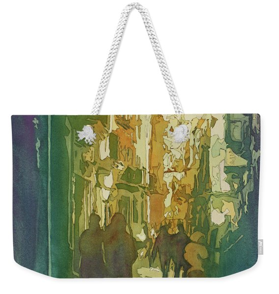 To The Cathedral Weekender Tote Bag