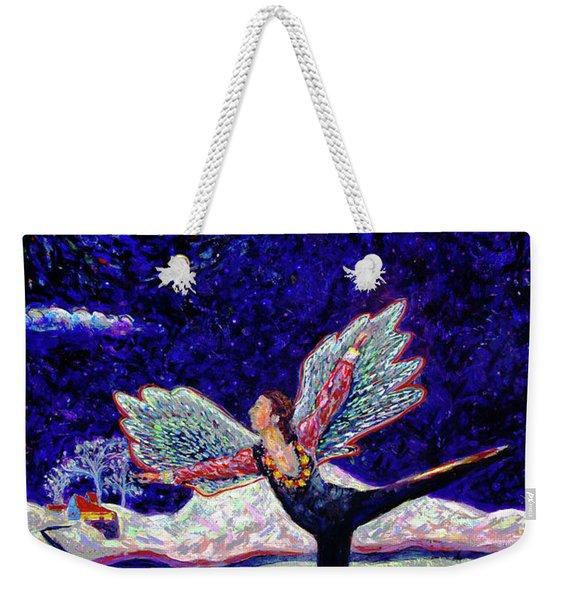 Toller In Heaven Weekender Tote Bag