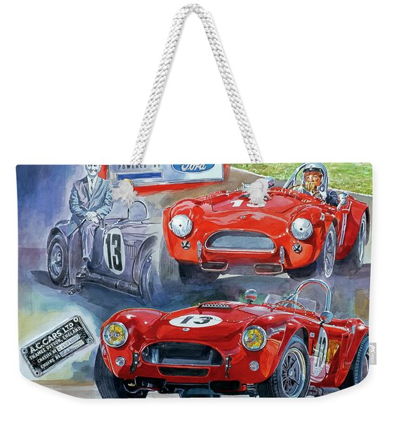Tom Payne's No 13  289 Cobra Competition Weekender Tote Bag