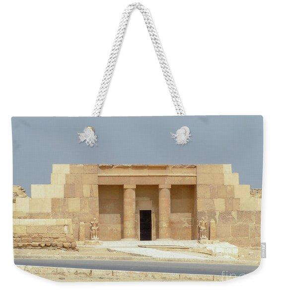 Tomb Of Mereruka Saqqara, Giza, Egypt F3 Weekender Tote Bag
