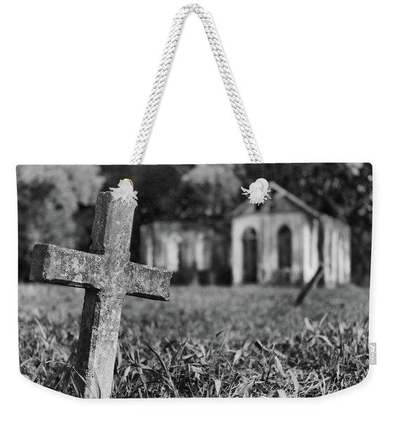 Tombstone, St. Chad's, Trinidad Weekender Tote Bag