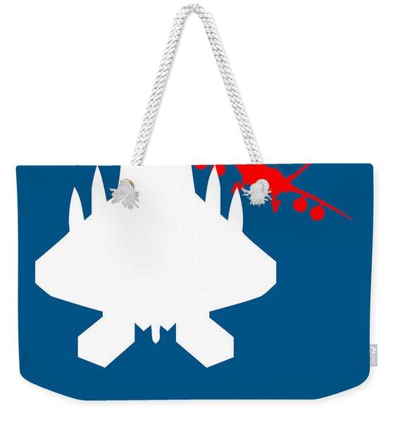 Top Gun Weekender Tote Bag