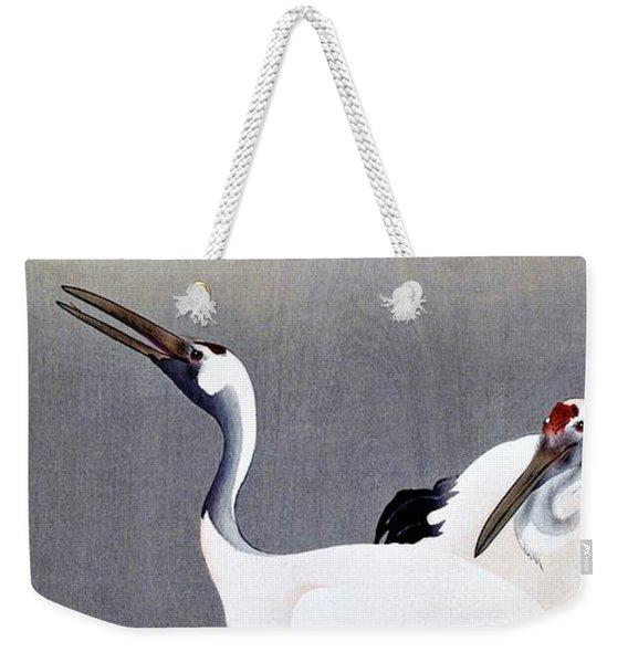 Top Quality Art - Grus Japonensis Weekender Tote Bag