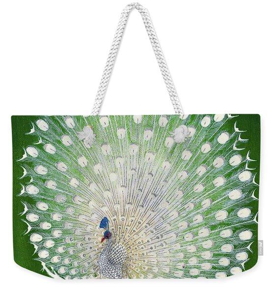 Top Quality Art - Peacock Weekender Tote Bag