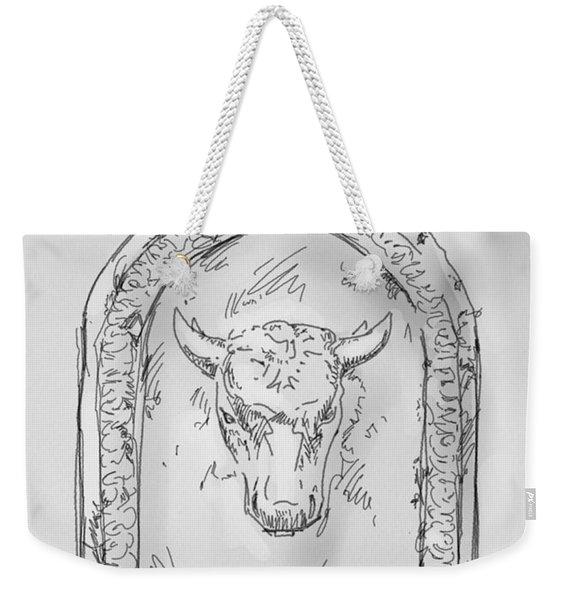 Toretto 1 Drawing Weekender Tote Bag