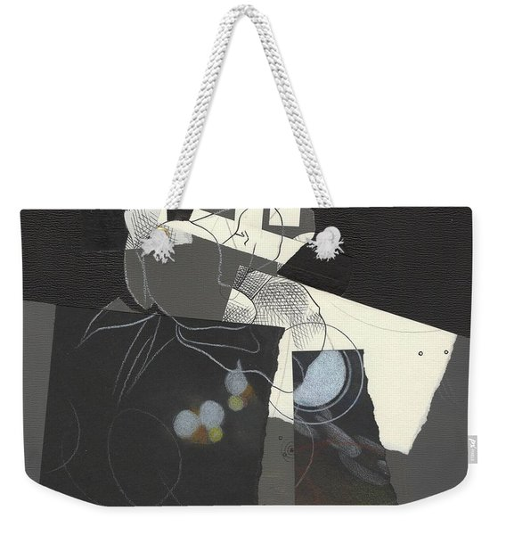 Torn Beauty No. 2 Weekender Tote Bag