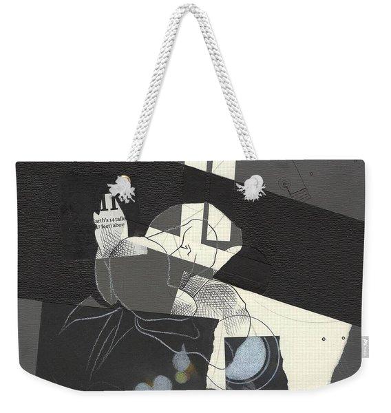 Torn Beauty No. 2 Weekender Tote Bag
