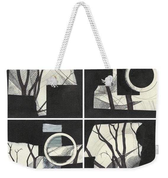 Torn Beauty No. 3 Weekender Tote Bag