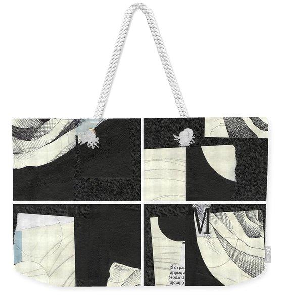 Torn Beauty No. 4 Weekender Tote Bag
