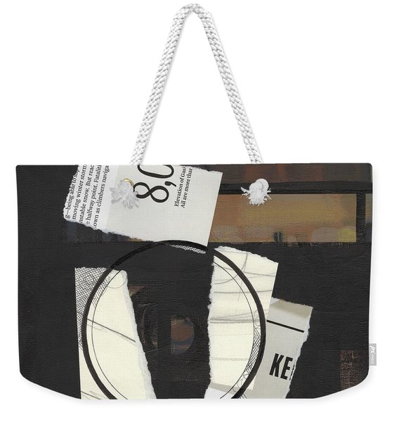 Torn Beauty No. 5 Weekender Tote Bag