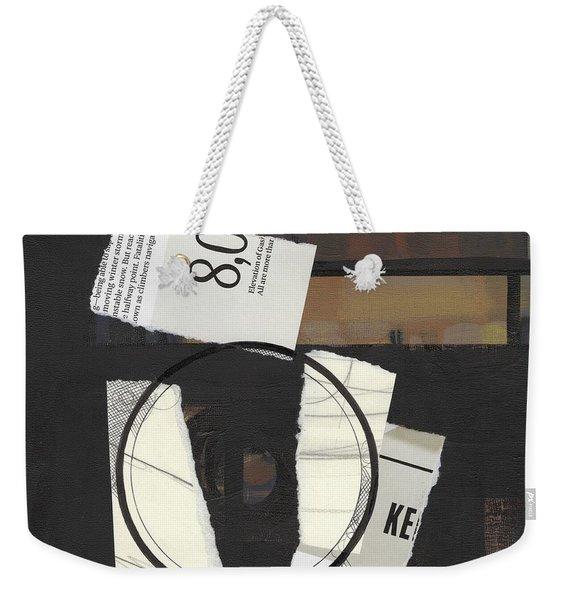 Torn Beauty No. 5 Weekender Tote Bag