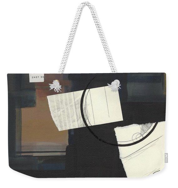 Torn Beauty No. 6 Weekender Tote Bag
