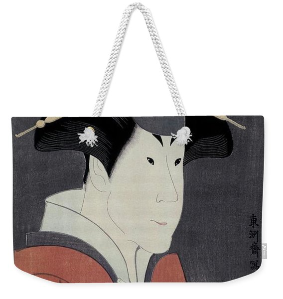 Toshusai Sharaku -copy-, Tsutaya Juzaburo / 'the Actor Segawa Tomisaburo II', 1794, Japanese School. Weekender Tote Bag