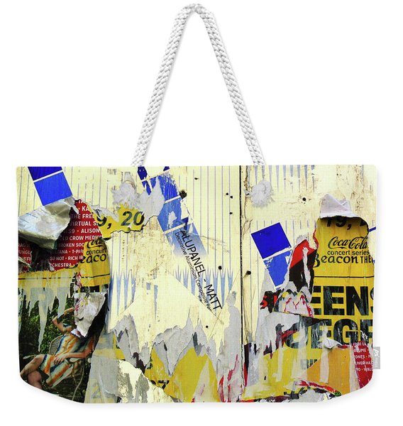 Touched By Nature Weekender Tote Bag