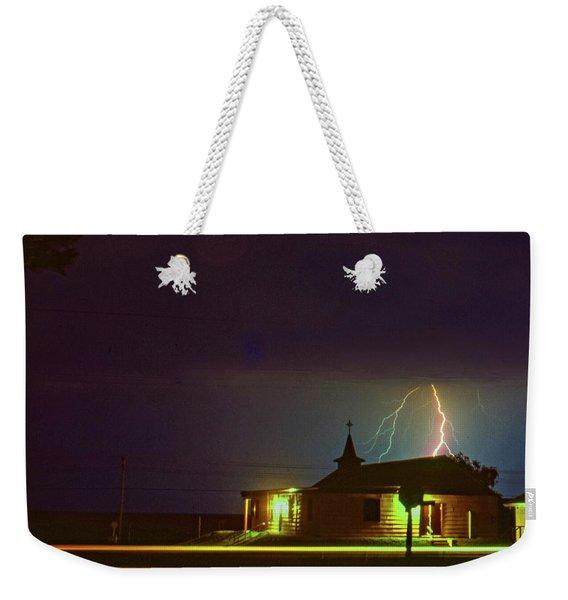 Tough Sermon Tomorrow - Sauble Beach Weekender Tote Bag