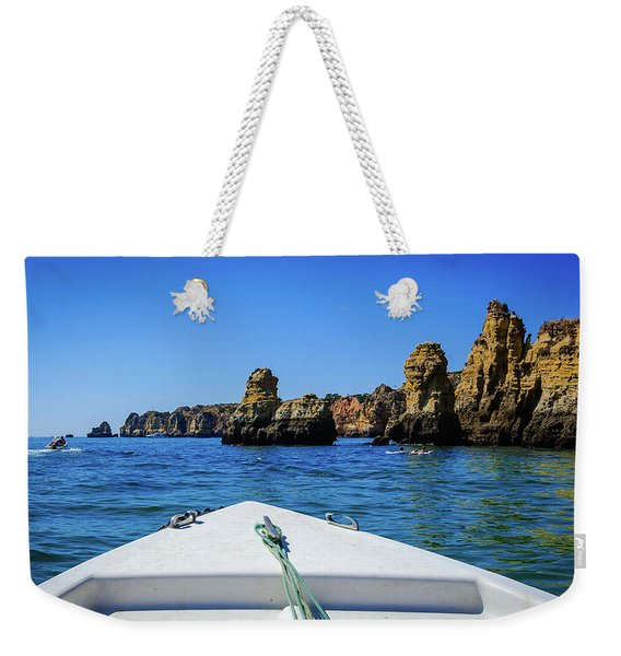 Towards The Cliffs Weekender Tote Bag