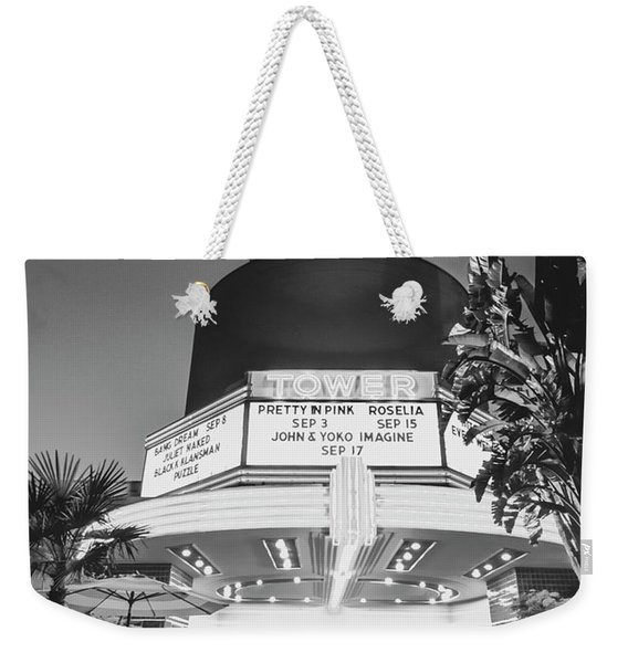 Tower In Silence- Weekender Tote Bag