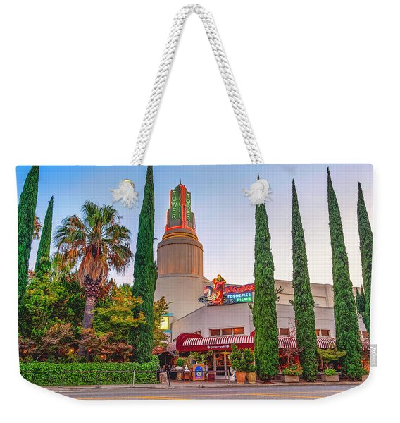 Tower Cafe Sunset- Weekender Tote Bag