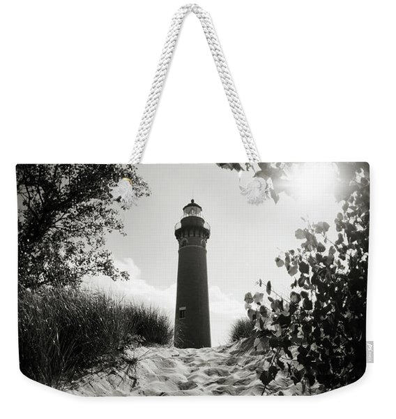 Weekender Tote Bag featuring the photograph Tower by Michelle Wermuth