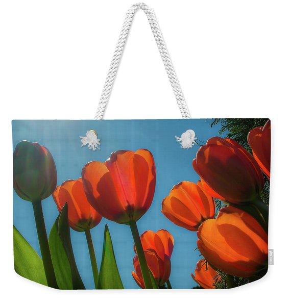 Towering Tulips Weekender Tote Bag