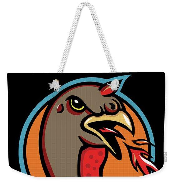 Town Mascot Weekender Tote Bag