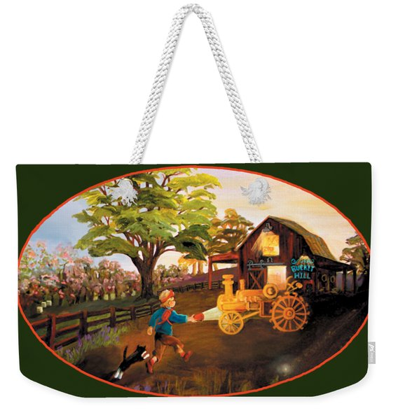 Tractor And Barn Weekender Tote Bag