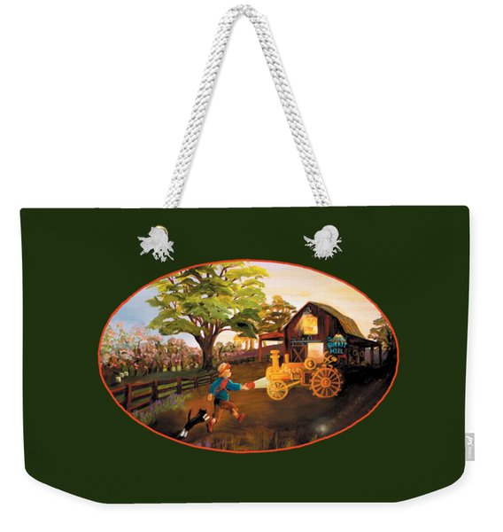 Tractor And Barn Weekender Tote Bag