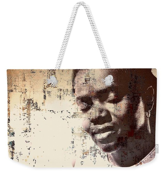 Tracy Chapman Weekender Tote Bag