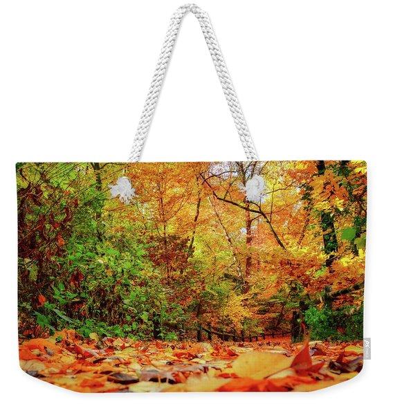 Trail Weekender Tote Bag