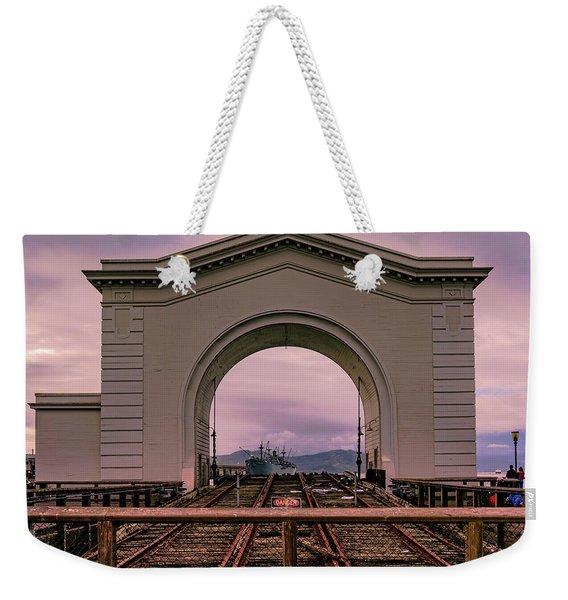 Train To Nowhere Weekender Tote Bag