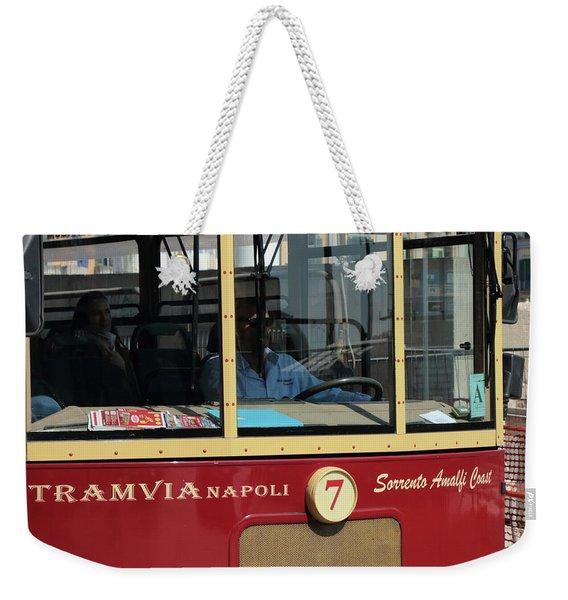 Tram Naples Weekender Tote Bag