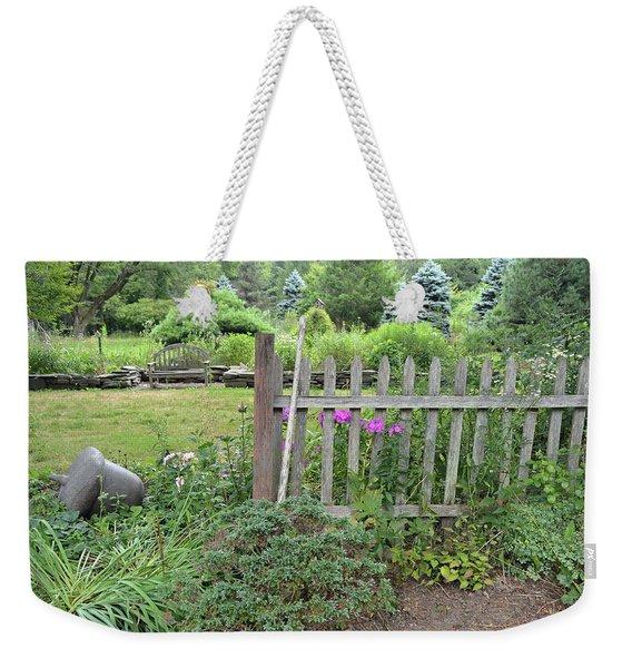 Tranquil Gardens Weekender Tote Bag