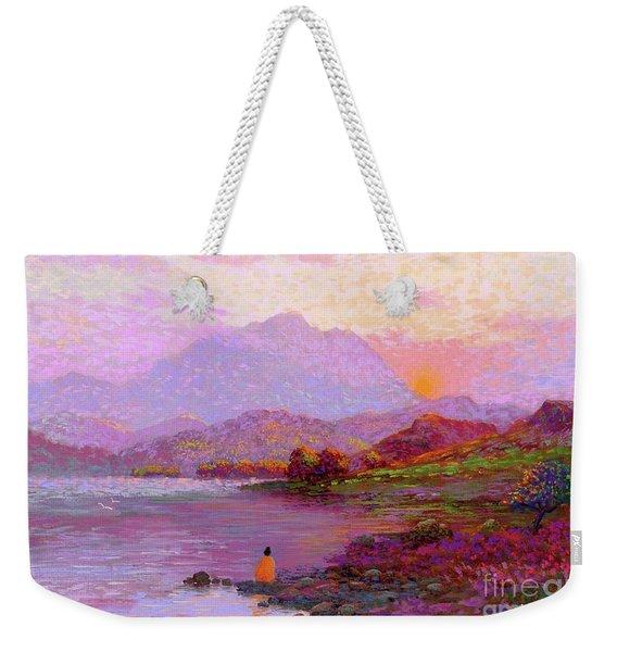 Tranquil Mind Weekender Tote Bag
