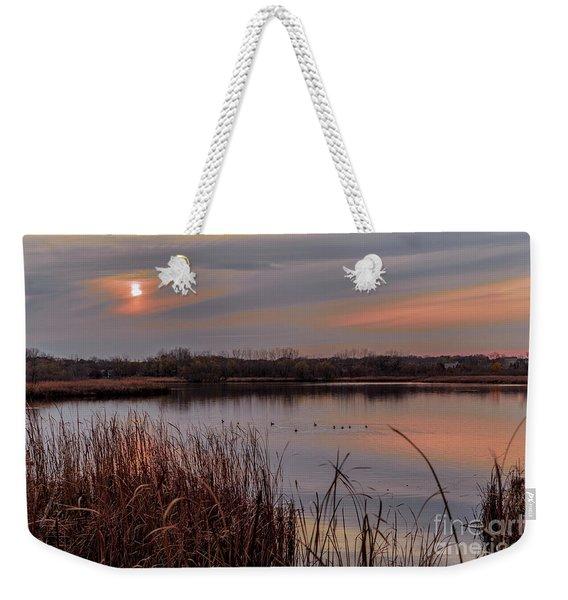 Tranquil Sunset Weekender Tote Bag