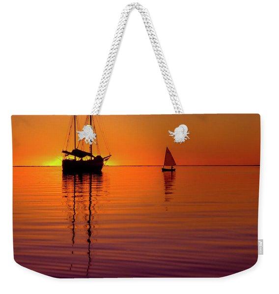 Tranquility Bay Weekender Tote Bag