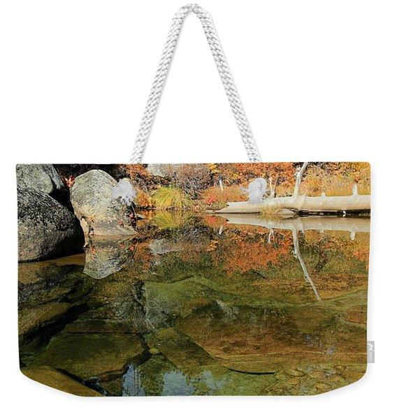 Transcendental Meditation Weekender Tote Bag