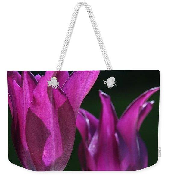 Translucent Tulips Weekender Tote Bag