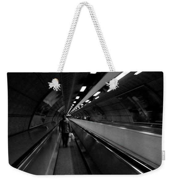 Travelator  Weekender Tote Bag